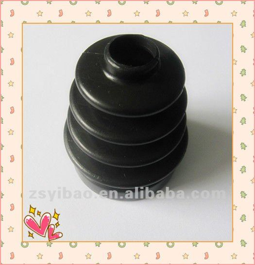 Black Molded Silicone rubber products Manufacture