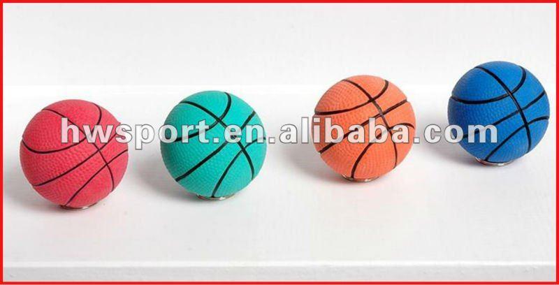 Pequeña de baloncesto de goma, Bola sólida, Bola suave, Rebote ...