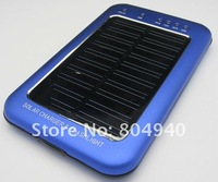 Зарядное устройство для мобильных телефонов Latest Universal Solar Energy Charger&Flashilight 2600mAh for mobile phone Spare power Supply 4 colors
