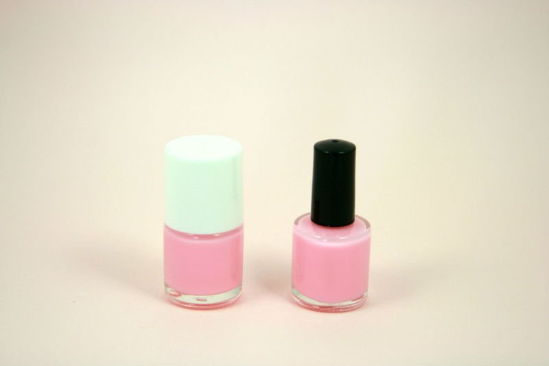 a Round Nail Polish Bottle For