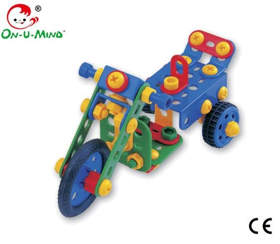 Plastic Enlighten Connect blocks Kids Toys-321pcs