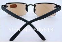 Женские очки для чтения High Quality Alloy Brown Lens Reading Glasses, Crystal Readers
