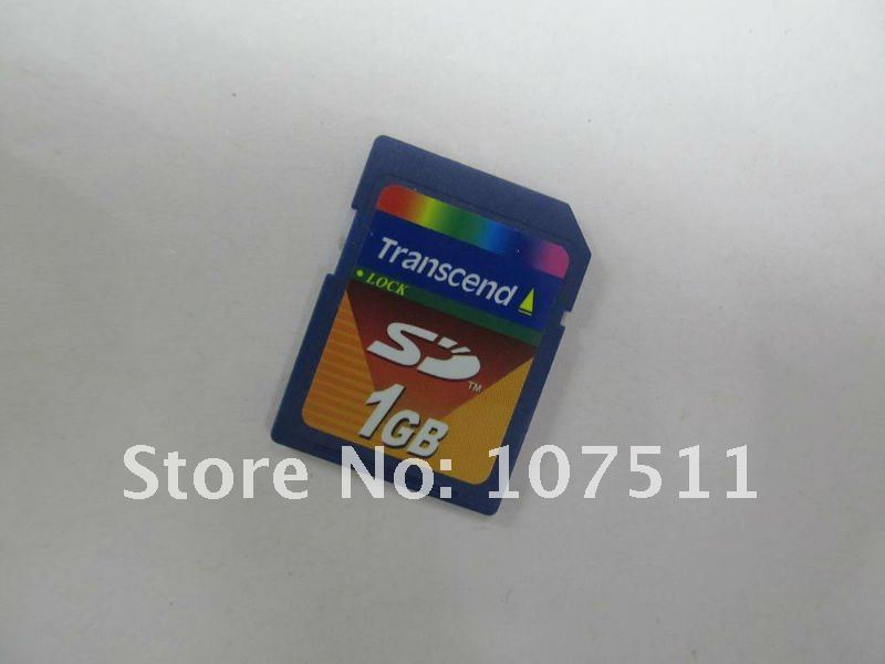 10 pcs transcend 1GB SD card Secure Digital Memory Card  free shipping