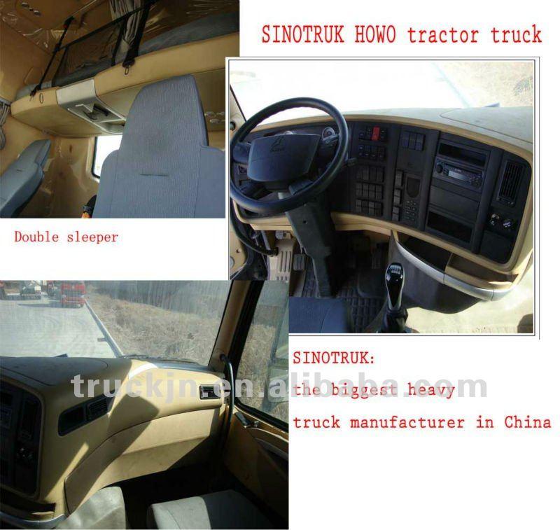 Heavy Tractor Truck Howo