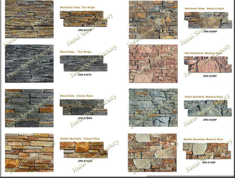 Natural Exterior Wall Stone Cladding