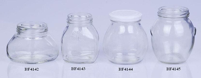 frascos de vidrio para la alimentacin