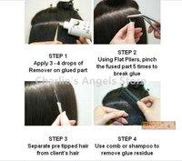 Наращивание волос утра cahn017