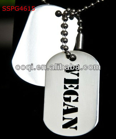 Heart shaped crown design epoxy dog tag