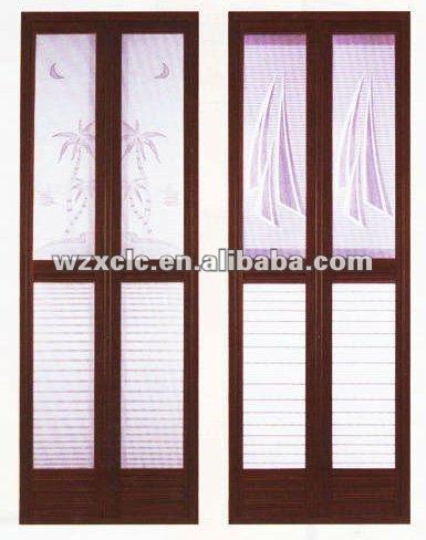 Cuarto de ba o de aluminio plegable de la puerta puerta - Puerta plegable de aluminio ...