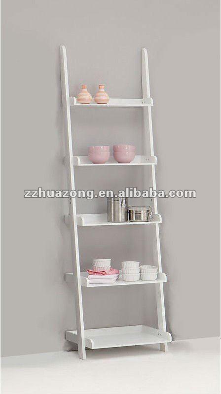 Ben Display Shelving Ladder Shelf -2 Sizes - Buy Wooden Bookcase