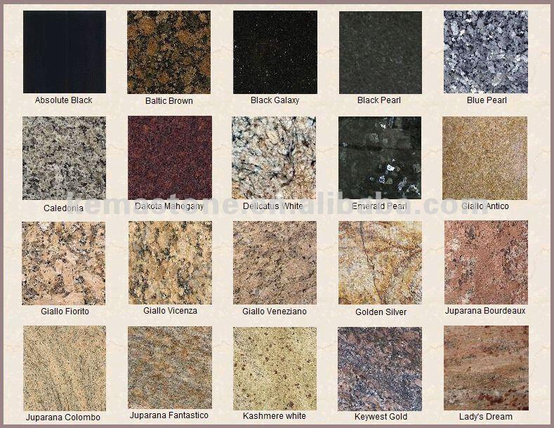Mesa de piedra bases para encimeras de granito encimeras for Colores de granito para encimeras de cocina