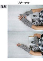 Free shipping!!! 5pairs/lot 2011 Hot sale Autumn & Winter use Arm Warmer fashion long gloves,lady's knitting gloves
