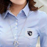 Женские блузки и Рубашки Angela , slim ol,  20120045