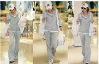 Женские толстовки и Кофты The Korean Version Of Women's Sports Hooded Casual Sportswear #1343