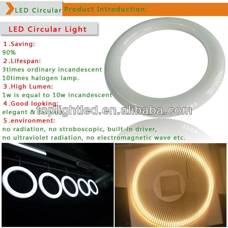 T9 led circle ring light G10Q 205mm