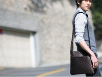 holesale retail high quality restore ancient ways cell shoulder bag PU messenger fashion bag Designer male single shoulder hobos