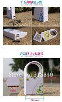 Вентилятор 1pc ABS Mini Bladeless Fan Air Conditoner Hold USB Cooling Fans - FAF08