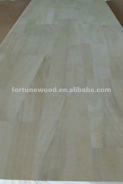 paulownia wood finger jointed board