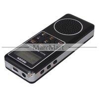 Радио DEGEN DE1127 Digital Radio DSP FM MW SW AM Receiver 4GB MP3 Player Recorder with Retail Box #EC368