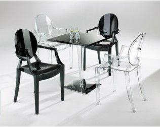 Cristal cadeira cadeira de acrílico atacado igreja cadeira