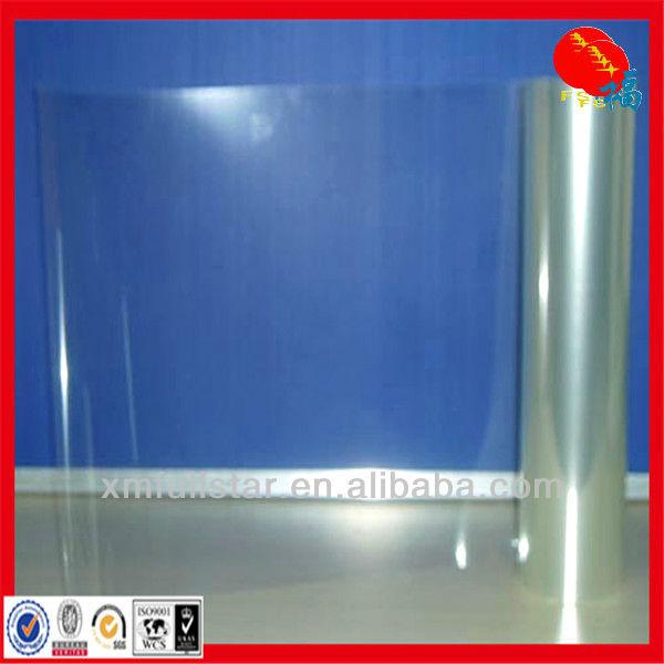 clear PVC rigid film for vacuum forming