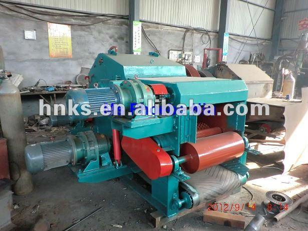 model 218 tree drum chipper machine
