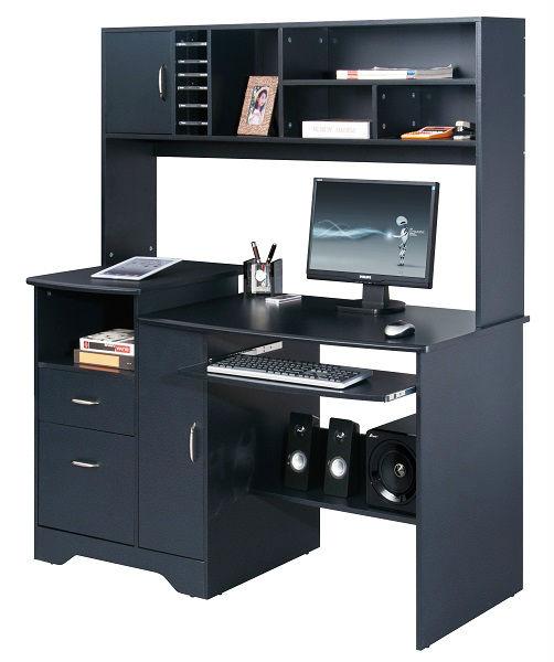 bureau avec tag re images. Black Bedroom Furniture Sets. Home Design Ideas