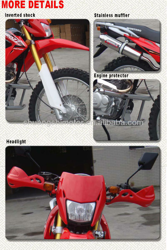 250cc off road motorcycle