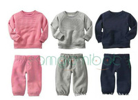 Комплект одежды для девочек Baby long sleeve t shirt + baby pants, Baby clothing sets, children suit .children wear .5sets/lot