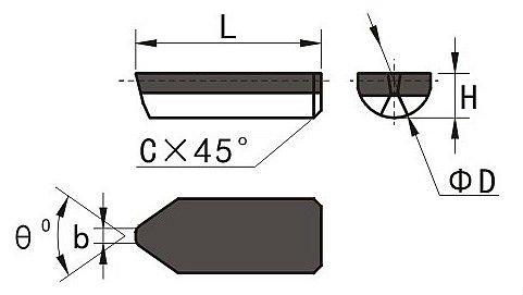 Roller groove milling bits
