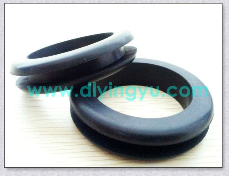 CUSTOM MOLDED ASSORTED NITRILE VITON EPDM CR WIRE USED RUBBER GROMMET