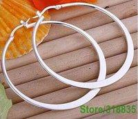 Серьги висячие NLE264 925 Sterling silver oblate circle jewelry silver earrings fashion jewelry fbaans iawjqa