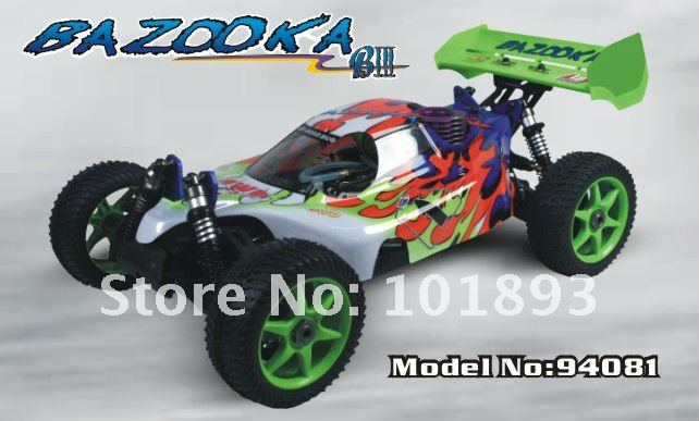 1/8th Scale Nitro Off Road RC Buggy hobby toy hsp bajaERC081
