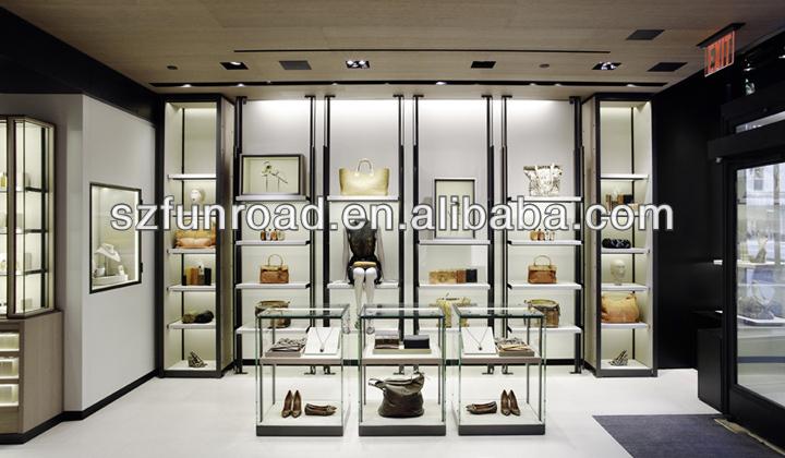 Modern Bags Display Rack In Women Boutique Design Showroom - Buy Modern Bags Display Rack In ...