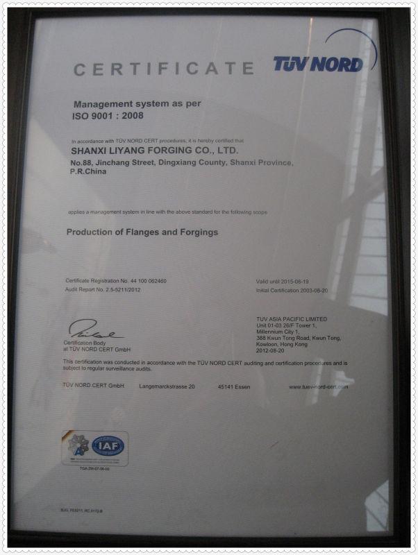 CS.ASTM A694 Gr F52 flange
