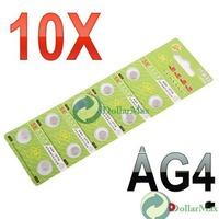 Аккумулятор таблеточного типа 10 x AG4 SR626 377 LR626 LR66 SR66