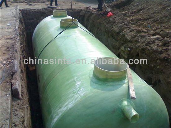 Large Capacity Frp Septic Tank Fiberglass Septic Tank