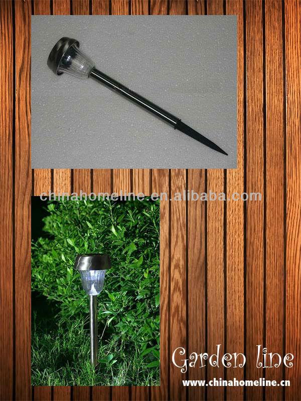 stainless steel solar LED garden light LIG00002