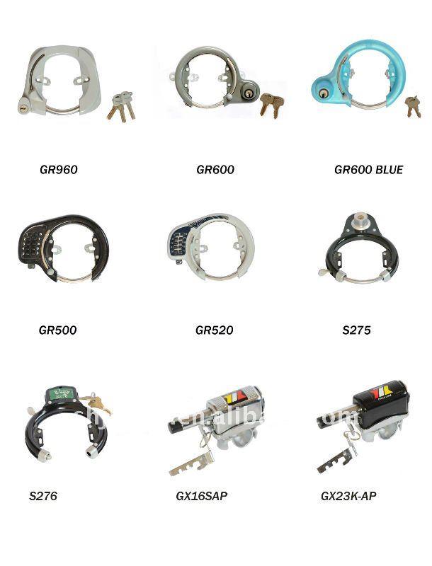 Gowel steel combination lock for safe