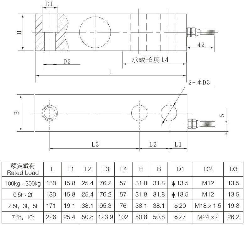Strain Gauge Sensor Strain Gauge Sensor 10t Xbb a