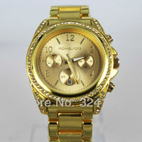 Наручные часы 2013 Xmas Hight Quality New Fashion MK watches MICHAEL watch with diamond