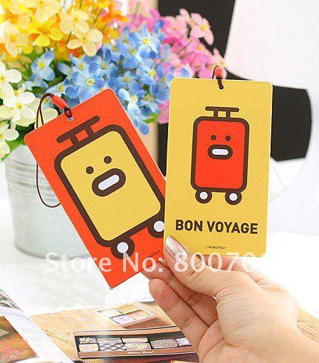 New Arrival!Korea Love Cartoon Luggage Tag,Baggage Tag,Card Case,120