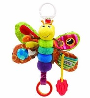 Детская погремушка Hot sale super cute colorful multifunctional happy butterfly lamaze bed hang/bell