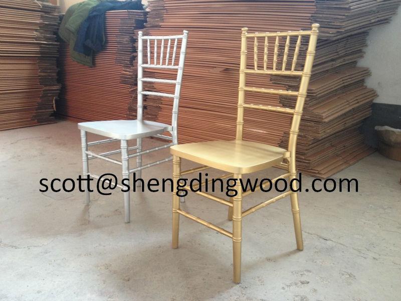 gold wooden tiffany, chiavari chair
