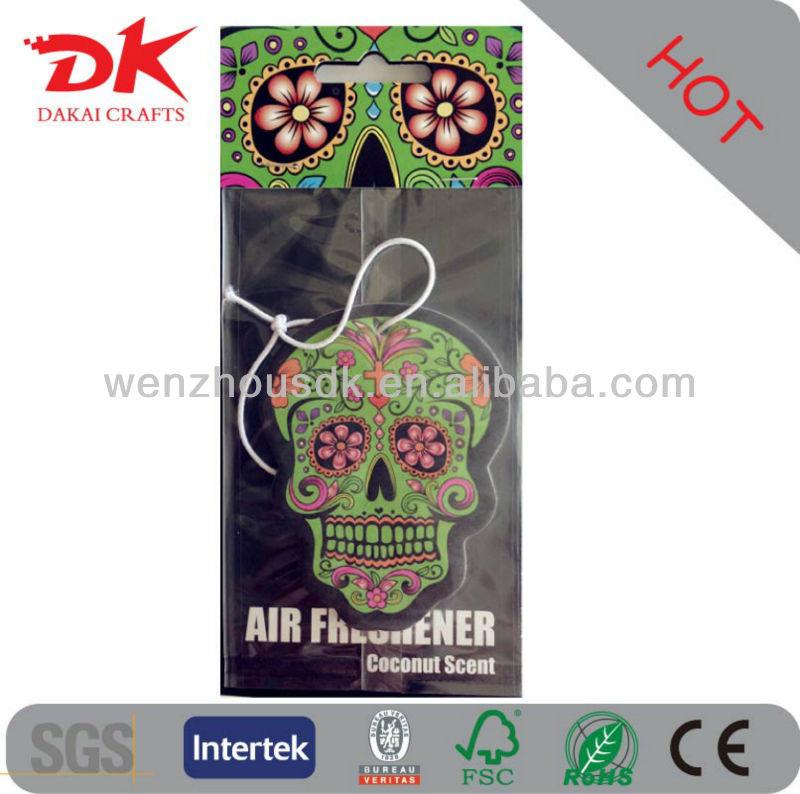 Paper Car Fresheners/Hanging paper air fresheners