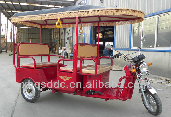 2014 model battery operated electric three wheeler motorcycle