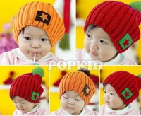 Шапка для мальчиков 1/4 Colors Cute Fashion Star Winter Wool Crochet Beanie Hat Fit For Baby Kids H0113