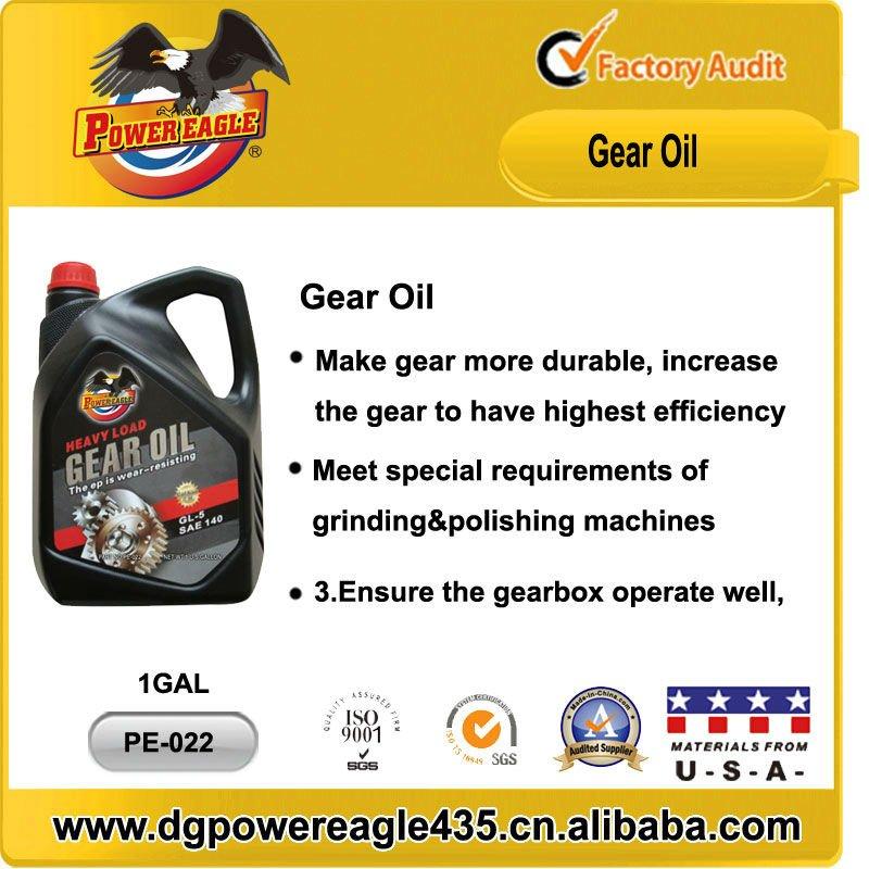 Power Eagle Sae140 Gl 5 Gear Oil 1 Gallon Buy Sae 90 140