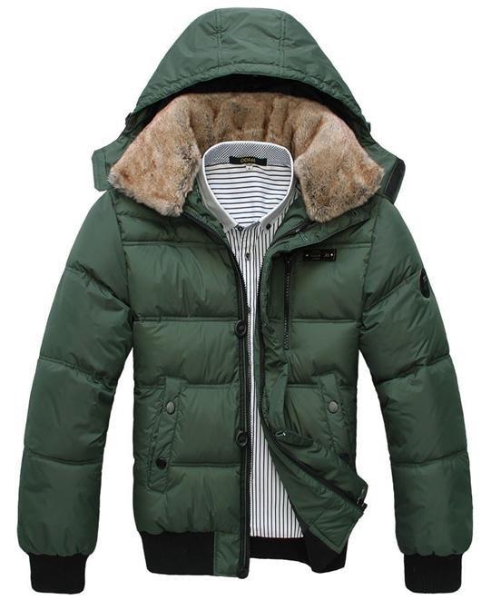 Мужская зимняя куртка с капюшоном в москве
