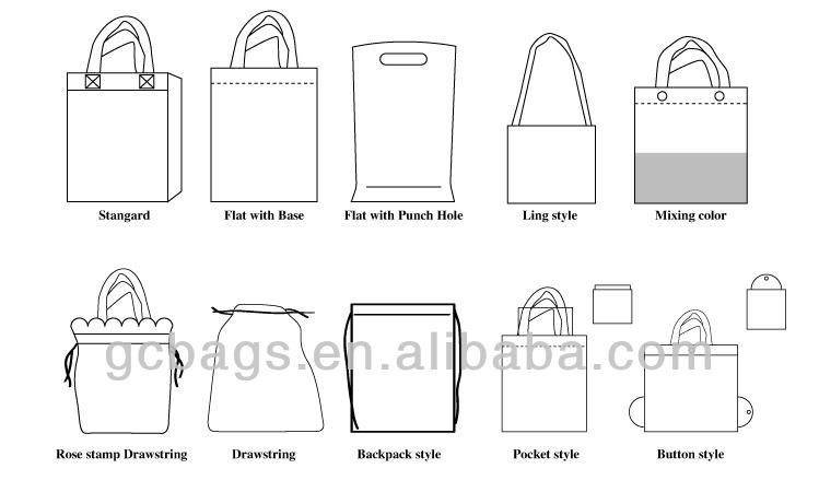 2016 hot sale custom printed hdpe t-shirt bag plastic bag manufacturers in Guangzhou